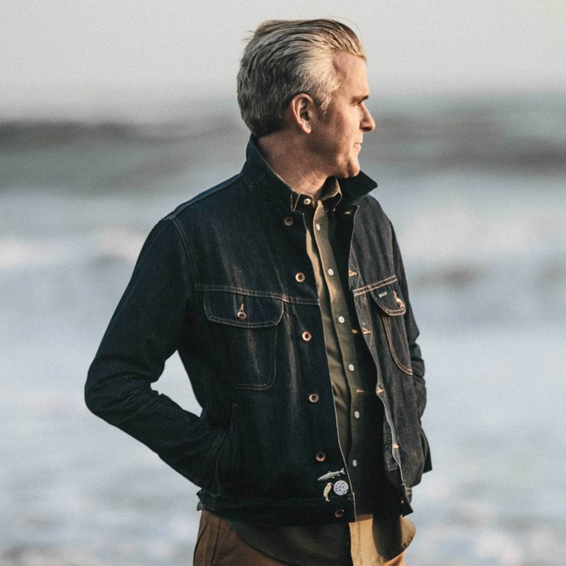 The Long Haul Jacket in Organic '68 Selvage