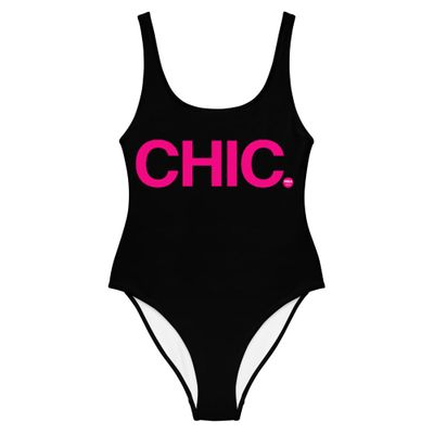 MBAchic CHIC Black One-Piece Swimsuit