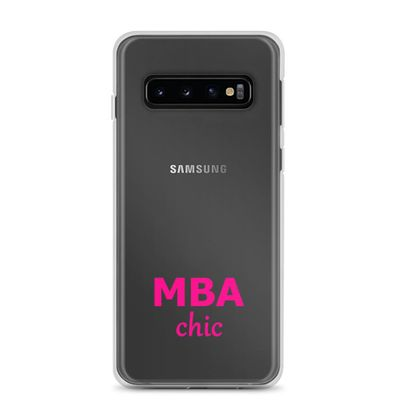 Clear MBAchic Samsung Case