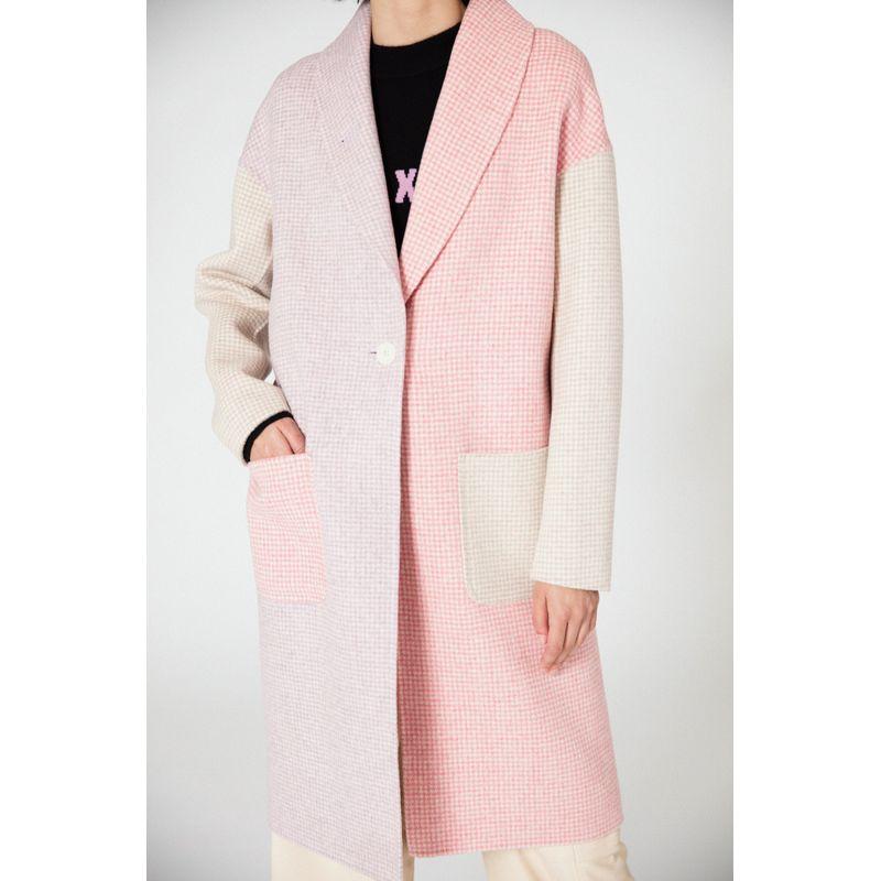 Cedar Double Faced Wool Coat