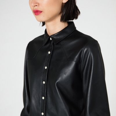 Durango Leather Button Down