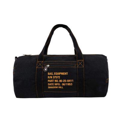 BLACK TRAVEL DUFFLE BAG