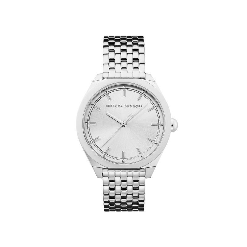 Amari Silver Tone Bracelet Watch, 38mm