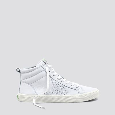 CATIBA High Off White Premium Leather Sneaker Women